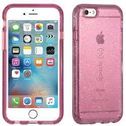 Apple Speck Products Candyshell Clear Glitter Case - Beaming Orchid Gold Glitter  73685-5638