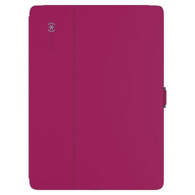 Apple Compatible Speck Products Stylefolio Case - Fuchsia Pink and Nickel Gray 75761-B920