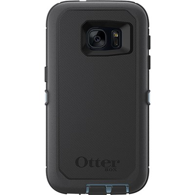 Samsung Otterbox Defender Rugged Interactive Case and Holster - Steel Berry Blue and Gray 77-52911