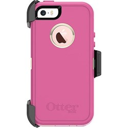 Apple Otterbox Defender Rugged Interactive Case and Holster - Berries and Cream  77-52952