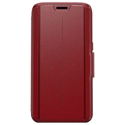 Samsung Otterbox Strada Leather Folio Protective Case - Ruby Romance Red  77-53190