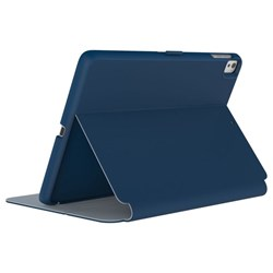 Apple Speck Products Stylefolio Case - Deep Sea Blue and Nickel Gray  77233-B901