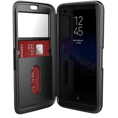 reputable site b47cd ca70f Samsung Galaxy S8 Plus Pelican Vault Series Folio Case - Black And ...