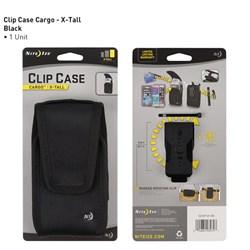 Nite Ize Clip Case Cargo Rugged Vertical Pouch - Black