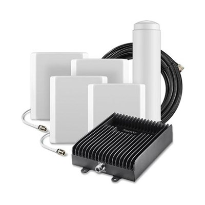 SureCall Fusion5X Cell Phone Signal Booster Kit with 4 Panel Antennas