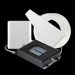 SureCall Fusion4Home Cell Phone Signal Booster - Yagi Outdoor Antenna and Panel Indoor Antenna
