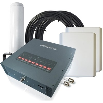 SureCall Force5 Signal Booster Kit with 1 Omni and 2 Panel Antennas