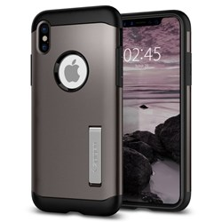 Apple Compatible Spigen SGP Slim Armor Case - Gunmetal  057CS22135