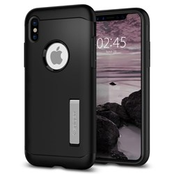Apple Compatible Spigen SGP Slim Armor Case - Black  057CS22138