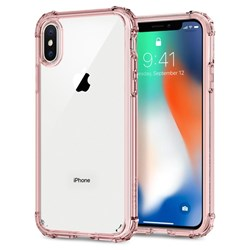 Apple Compatible Spigen Crystal Shell Case - Rose Crystal