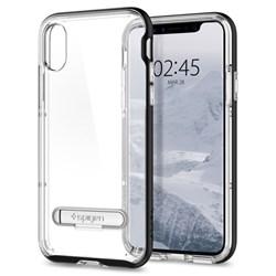Apple Spigen Crystal Hybrid Case With Kickstand - Black  057CS22147