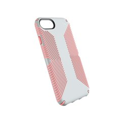 Apple Compatible Speck Products Presidio Grip Case - Dove Gray And Tart Pink  103108-6584