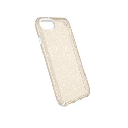 Apple Compatible Speck Products Presidio Clear and Glitter Case - Gold Glitter and Clear  103109-5636