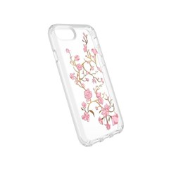 Apple Speck Products Presidio Clear and Print Case - Goldenblossom Pink And Clear  103114-5754