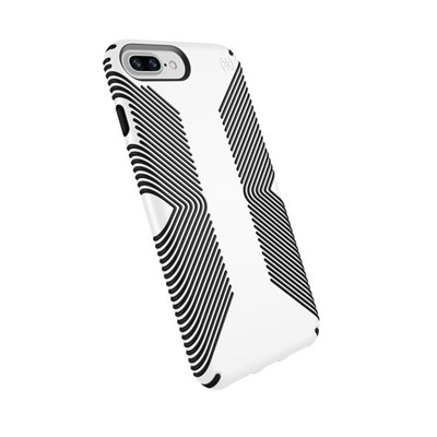 check out b1203 d6ff8 Apple iPhone 8 Plus Compatible Speck Products Presidio Grip Case - White  And Black 103122-1909