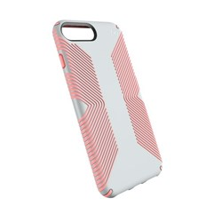 Apple Compatible Speck Products Presidio Grip Case - Dove Gray and Tart Pink  103122-6584