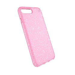 Apple Compatible Speck Products Presidio Clear and Glitter - Bella Pink And Gold Glitter