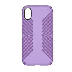 Apple Compatible Speck Products Presidio Grip Case - Aster Purple and Heliotrope Purple  103131-6575