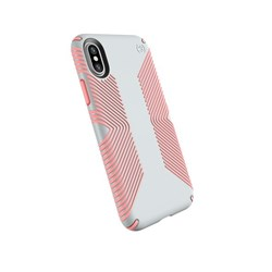 Apple Compatible Speck Products Presidio Grip Case - Dove Gray And Tart Pink  103131-6584