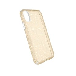 Apple Speck Products Presidio Clear and Glitter Case - Gold Glitter And Clear  103132-5636