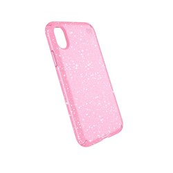 Apple Speck Products Presidio Clear and Glitter Case - Bella Pink and Gold Glitter  103132-6603