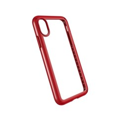 Apple Speck Products Presidio Show Case - Clear And Heartthrob Red  103134-6691