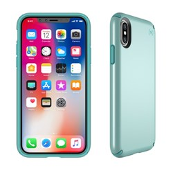 Apple Compatible Speck Products Presidio Case - Peppermint Green Metallic And Jewel Teal  103135-6596