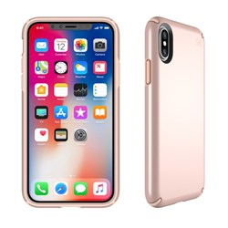 Apple Compatible Speck Products Presidio Case - Rose Gold Metallic and Dahlia Peach  103135-6597