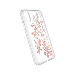 Apple Speck Products Presidio Clear and Print Case - Goldenblossom Pink and Clear  103136-5754