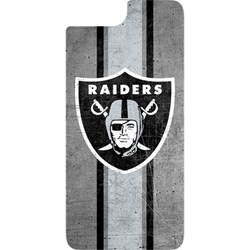 Apple Otterbox NFL Alpha Glass for Front and Back of Device - Oakland Raiders