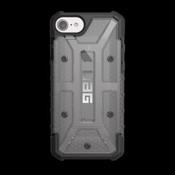 Apple Compatible Urban Armor Gear Plasma Case - Ash and Black  IPH7-6S-L-AS