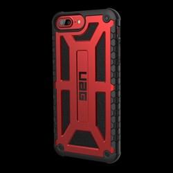 Apple Urban Armor Gear Monarch Case - Crimson And Black  IPH8-7PLS-M-CR