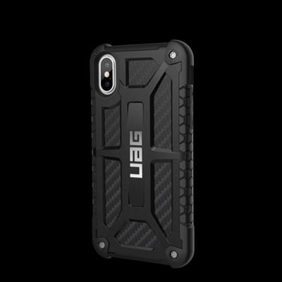 67a5c5d6fe6 Apple iPhone X Urban Armor Gear Monarch Case - Carbon Fiber and ...