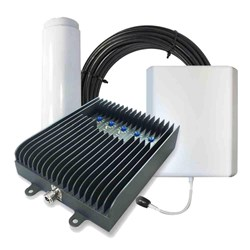 Surecall Fusion5s Cellular Signal Booster Kit with Omni and Panel Antenna