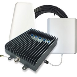 Surecall Fusion5s Cellular Signal Booster Kit with Yagi and Panel Antenna