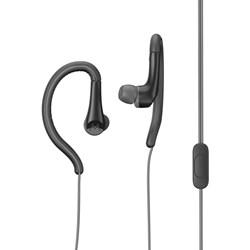 Motorola Earbuds Sport Water Resistant In Ear Headphones With Ear Hook And Mic - Black