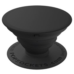Popsockets - Solid Device Stand And Grip - Black