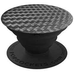 Popsockets - Device Stand And Grip - Carbonite Weave