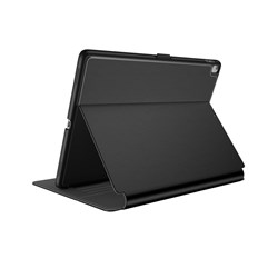 Apple Speck Products Balance Folio Case With Sleep and Wake Magnet - Black And Slate Gray
