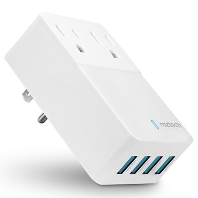 Naztech Fast Multi-Device Charger - White