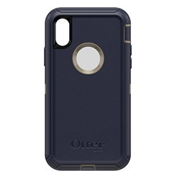 Apple Otterbox Rugged Defender Series Case and Holster - Dark Lake Blue  77-59466