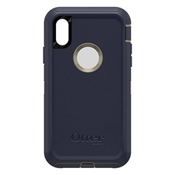 Apple Otterbox Rugged Defender Series Case and Holster - Dark Lake Blue  77-59763