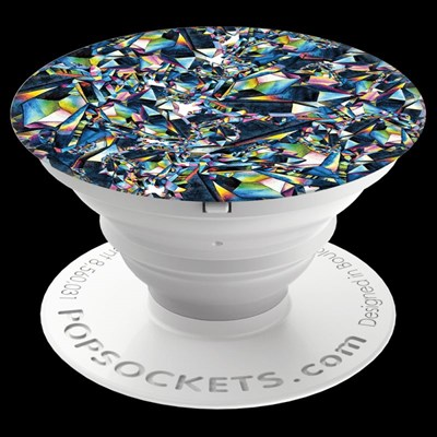 Popsockets - Gloss Abstract Device Stand And Grip - Facet