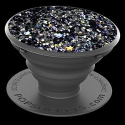 Popsockets - Device Stand And Grip - Sparkle Black