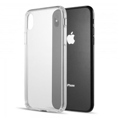 Luxmo Fusion Candy TPU with Clear Acrylic Back Plate- Clear