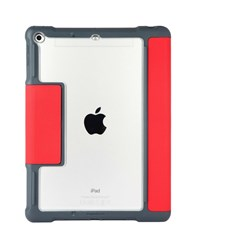 Dux Plus iPad 6th Gen Case With Apple Pencil or Logitech Crayon Storage (Education Only) - Red
