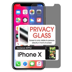 Cellet Premium Tempered Glass Screen Protector For Apple Iphone X - Privacy