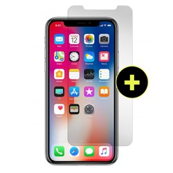 Gadget Guard Black Ice Plus Sapphire Edition Extra Strength Tempered Glass Screen Protector For Apple iPhone X - iPhone XS
