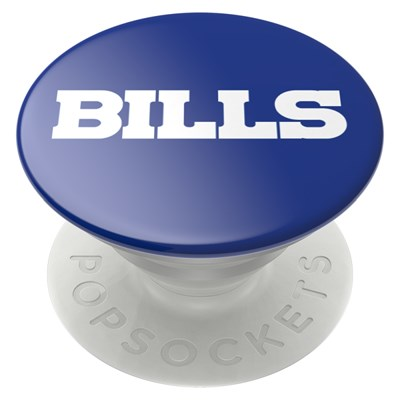Popsockets - Popgrips Nfl Licensed Swappable Device Stand And Grip - Buffalo Bills Logo Gloss