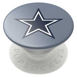 Popsockets - Popgrips Nfl Licensed Swappable Device Stand And Grip - Dallas Cowboys Helmet Gloss